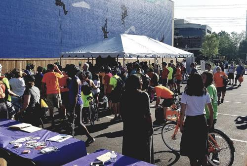 The White Flint Partnership has been an annual sponsor of Bike to Work Day